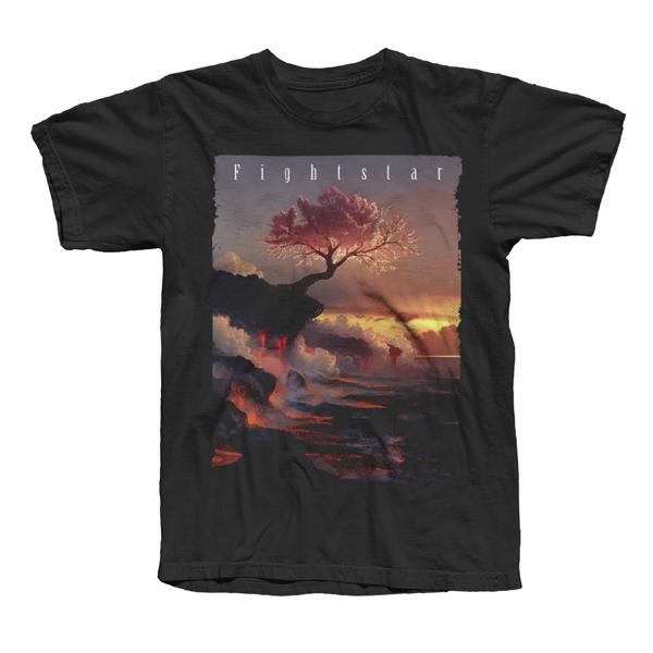 Buy Online Fightstar - Fightstar Album T-Shirt