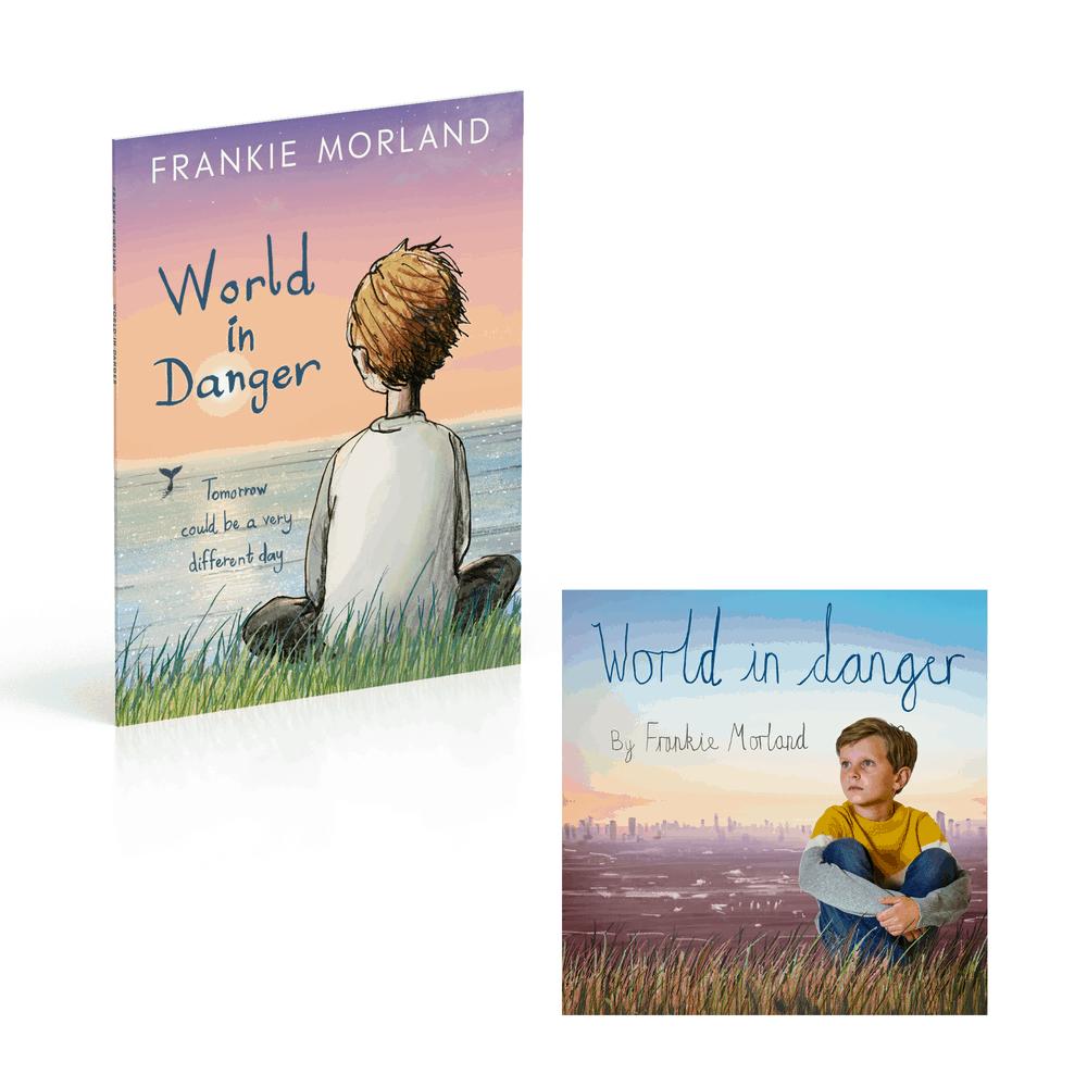 Buy Online Frankie Morland - World In Danger Download + Book