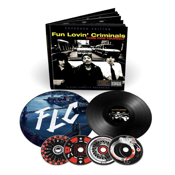 Buy Online Fun Lovin Criminals - Come Find Yourself (20th Anniversary Edition) Deluxe Boxset