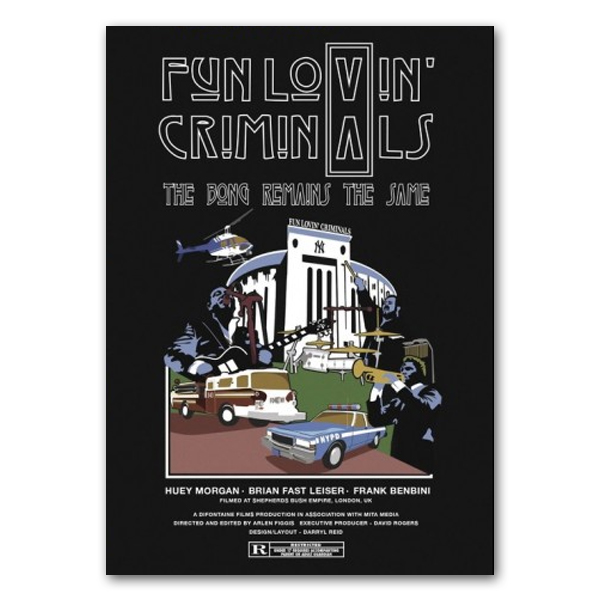 Buy Online Fun Lovin Criminals - Bong Remains The Same Ltd Edition Art Print (Signed)