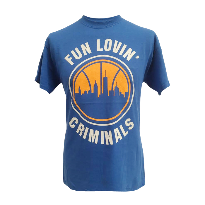 Buy Online Fun Lovin Criminals - Knicks T-Shirt