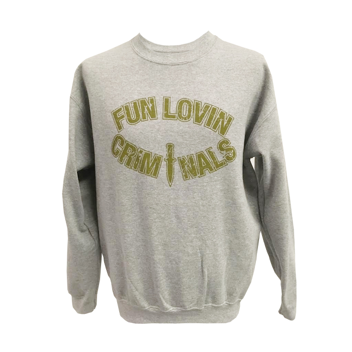 Buy Online Fun Lovin Criminals - Dagger Crewneck Sweatshirt