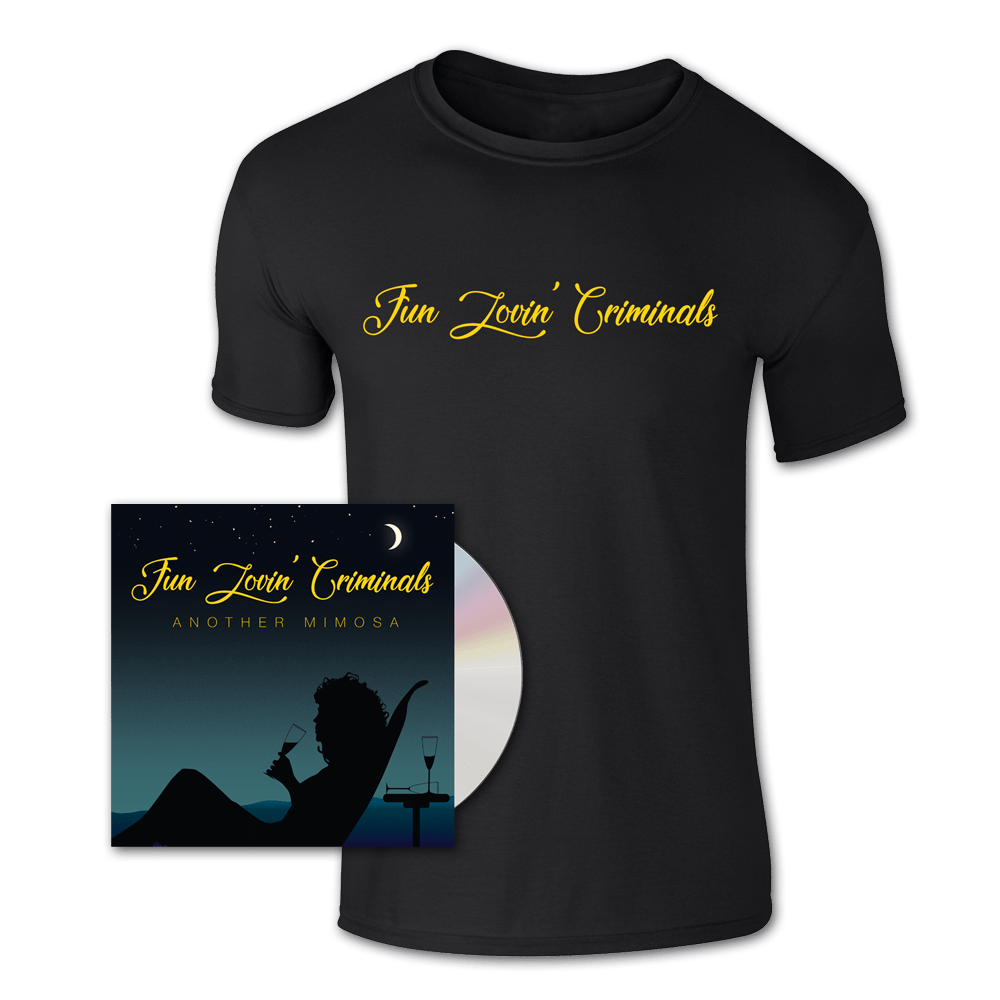 Buy Online Fun Lovin Criminals - Another Mimosa CD + T-Shirt
