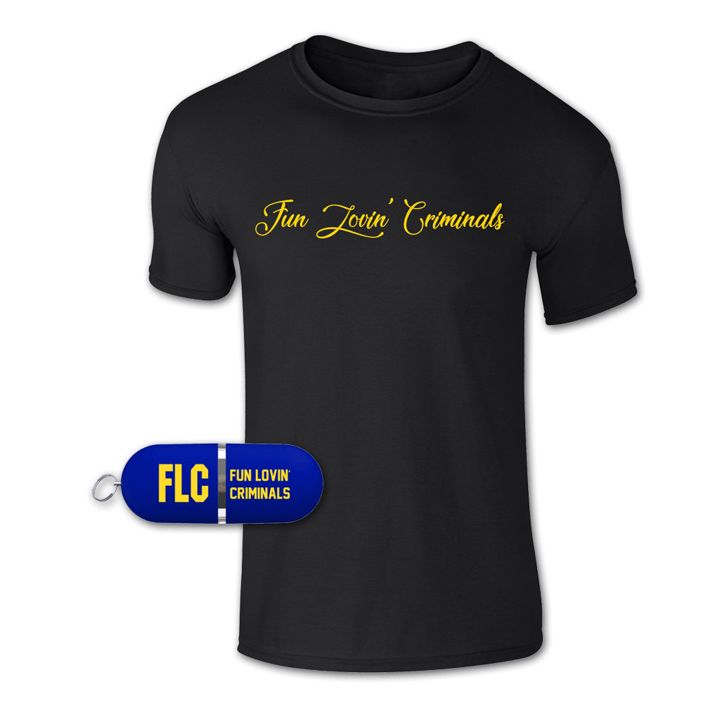 Buy Online Fun Lovin Criminals - Another Mimosa USB + T-Shirt