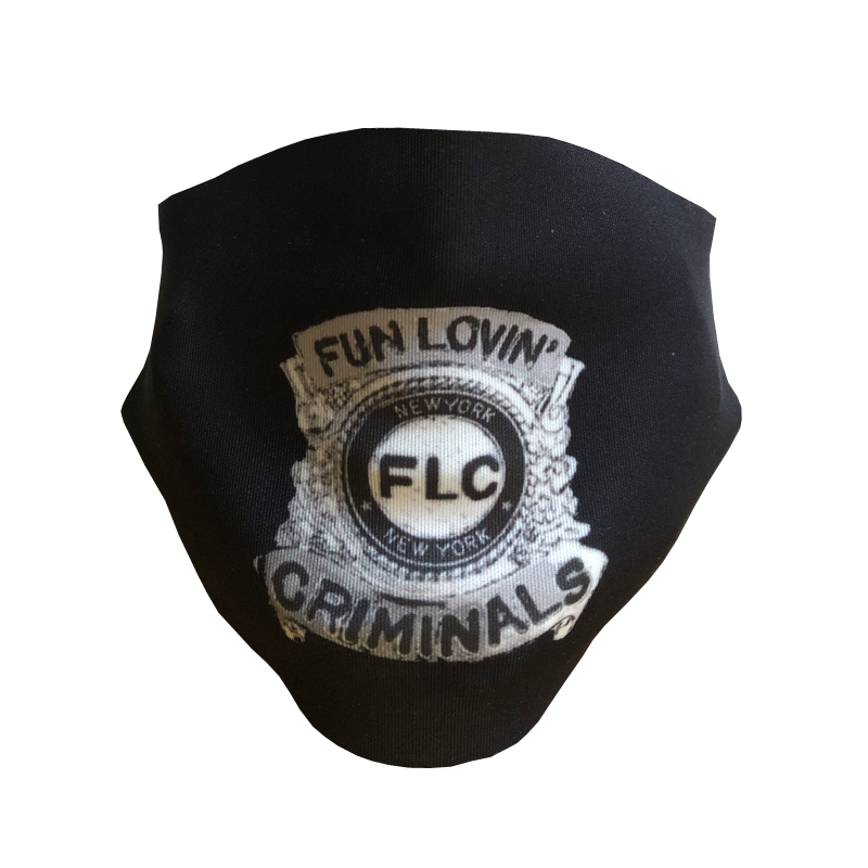 Buy Online Fun Lovin Criminals - Crims Police Badge Facemask