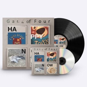 Buy Online Gang of Four - Happy Now - CD & Vinyl (Signed)