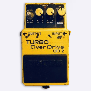 Buy Online Gang of Four - Turbo Over Drive OD-2 FX Pedal