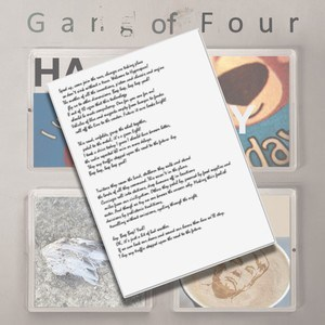 Buy Online Gang of Four - PRIVATE LINK - Handwritten Lyric Sheet (Signed)