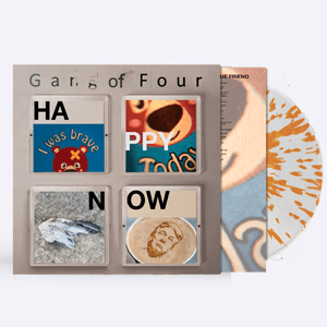 Buy Online Gang of Four - Happy Now Orange Splatter