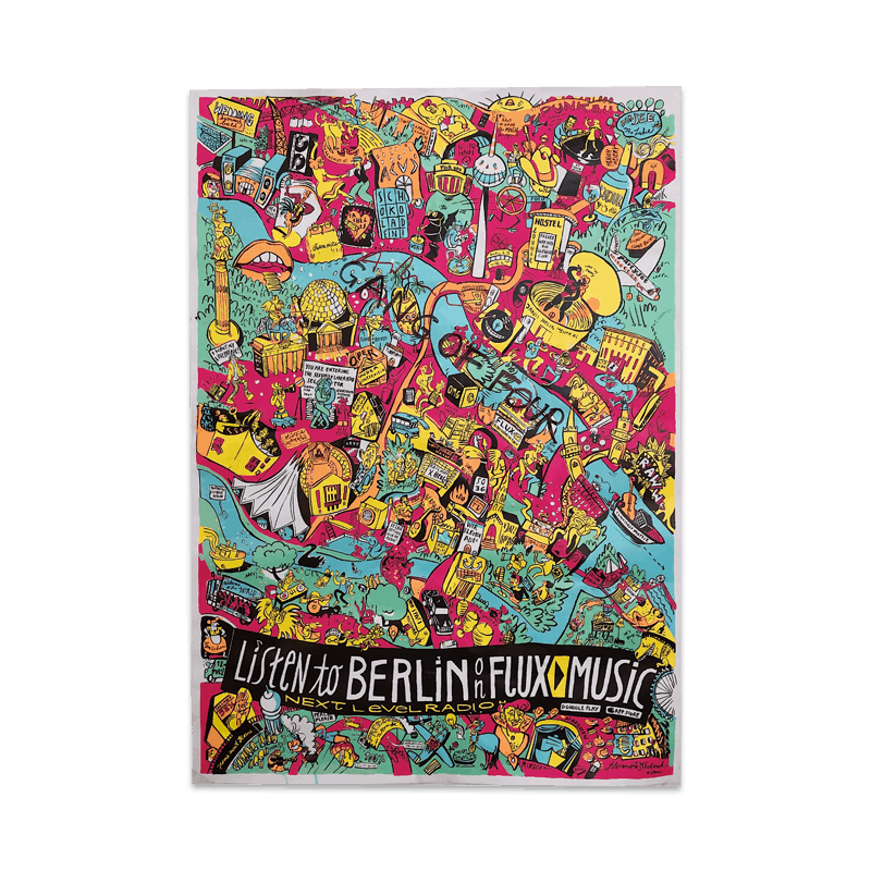 Buy Online Gang of Four - Berlin Graffiti Poster