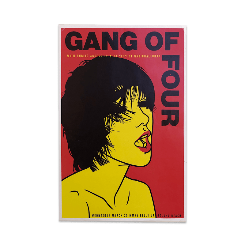 Buy Online Gang of Four - Solana Beach Poster
