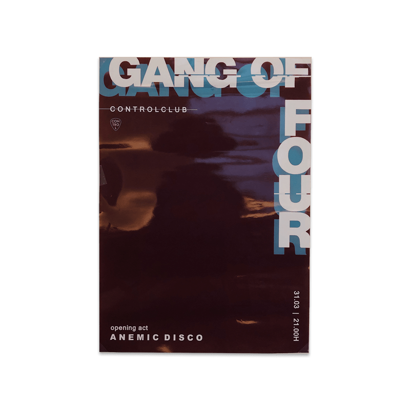 Buy Online Gang of Four - Control Club Poster