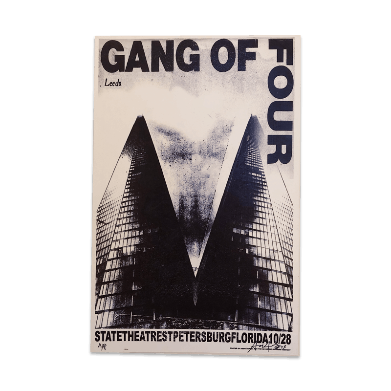 Buy Online Gang of Four - St.Petersburg Florida Poster