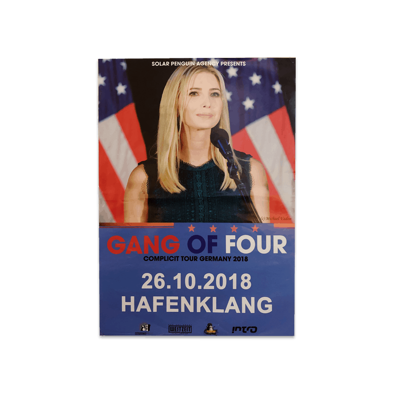 Buy Online Gang of Four - Germany 2008 Ivanka Poster