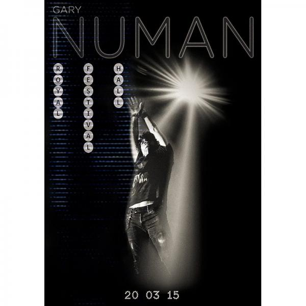 Buy Online Gary Numan - Royal Festival Hall 2015 Poster