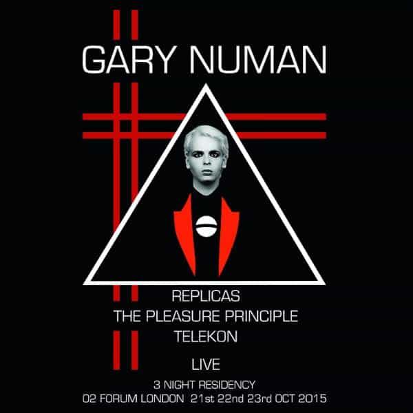 Buy Online Gary Numan - Live At The Forum Picture Discs Vinyl Box Set