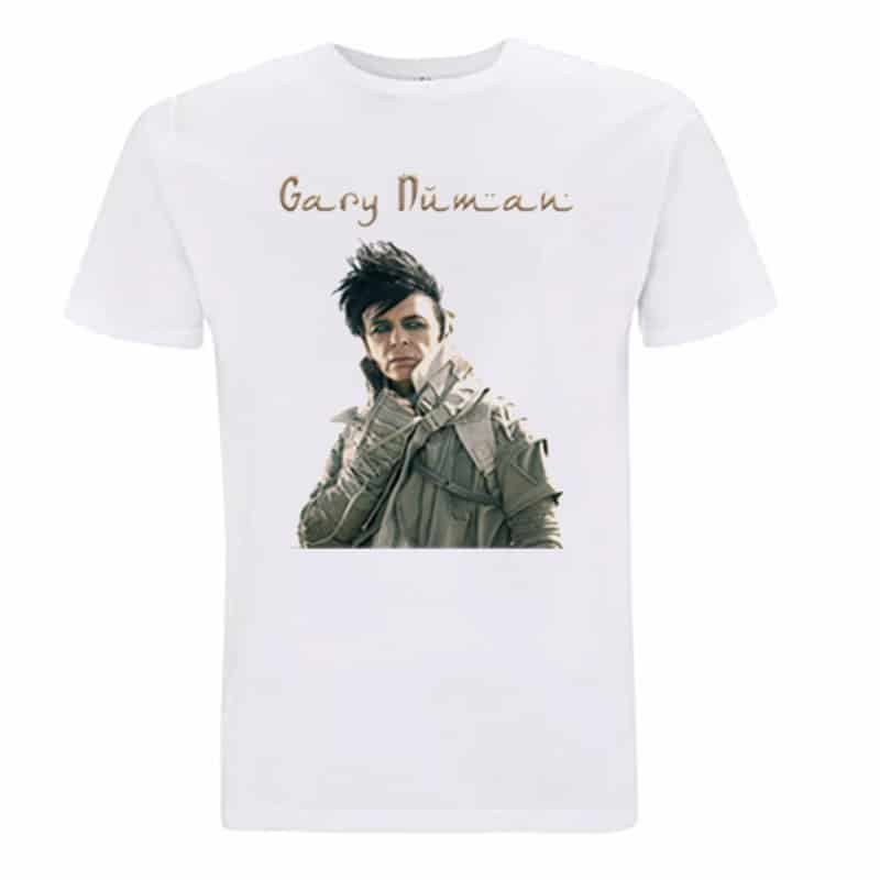 Buy Online Gary Numan - White Savage T-Shirt
