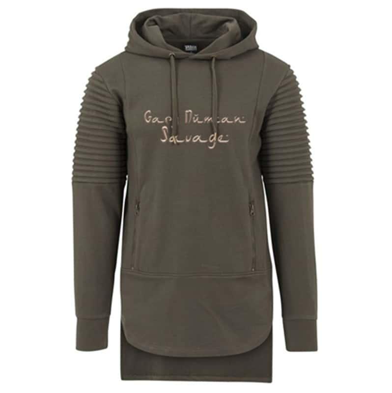 Buy Online Gary Numan - Ribbed Sleeve Hoody