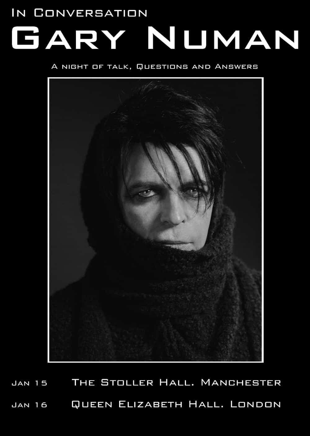 Buy Online Gary Numan - In Conversation Meet and Greet Ticket
