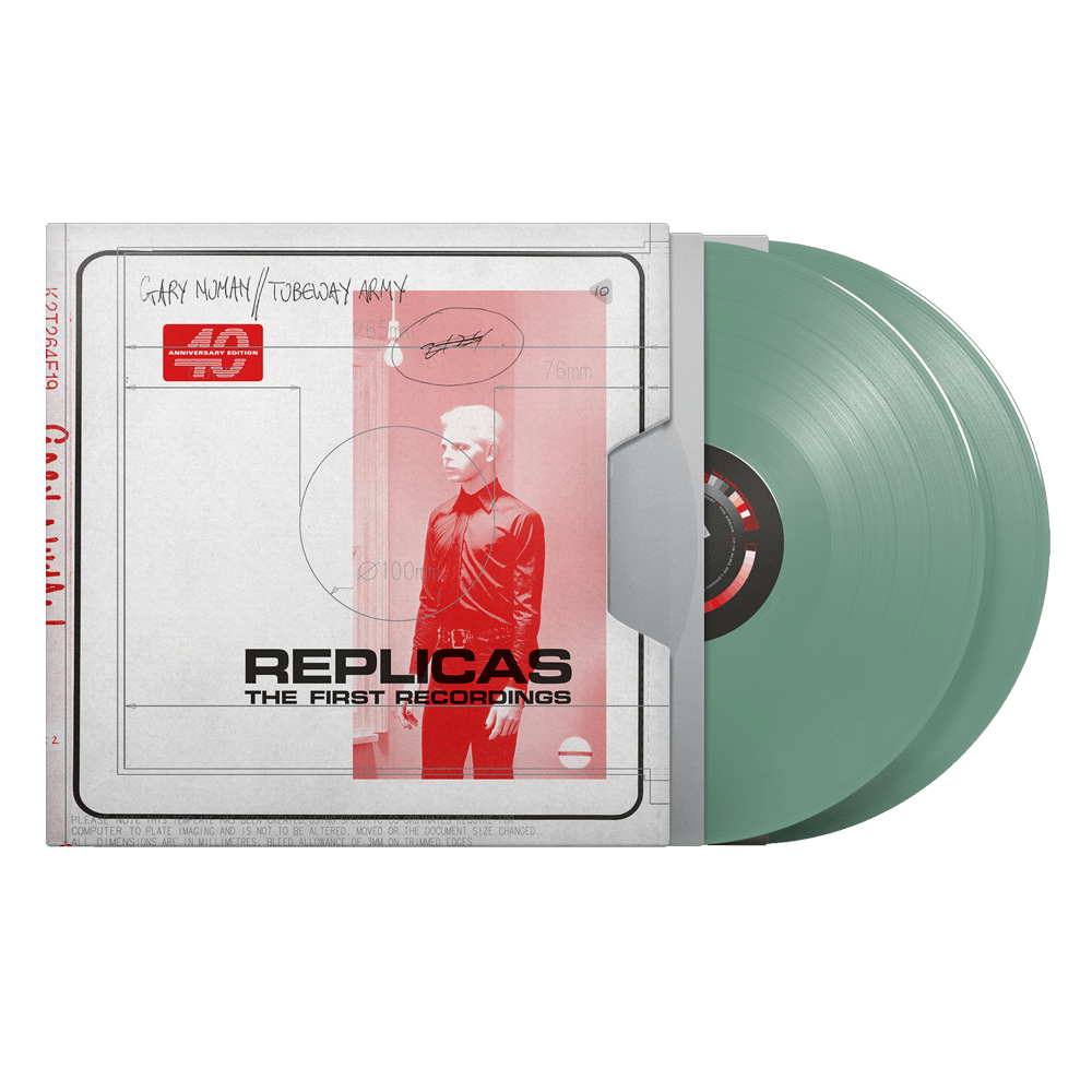 Buy Online Gary Numan - Replicas – The First Recordings Sage Green Coloured