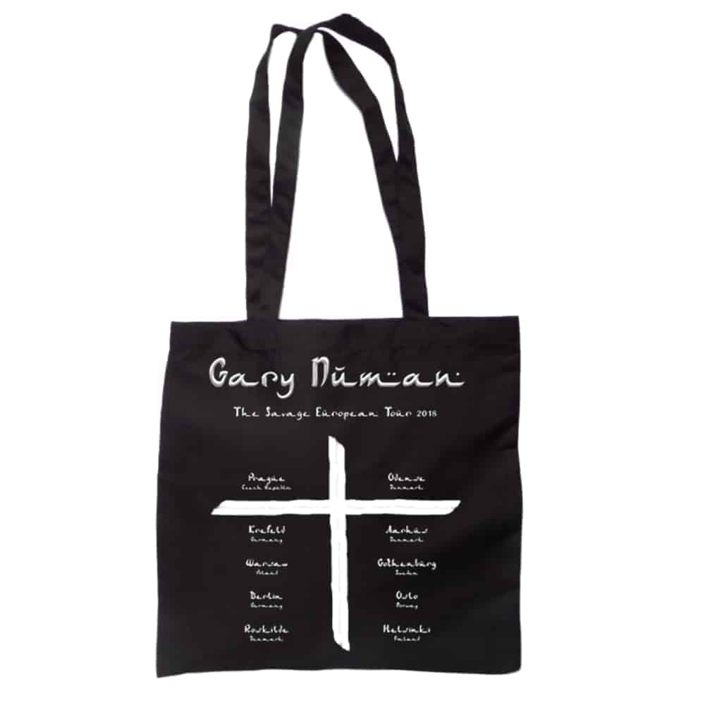 Buy Online Gary Numan - 2018 European Tour Bag