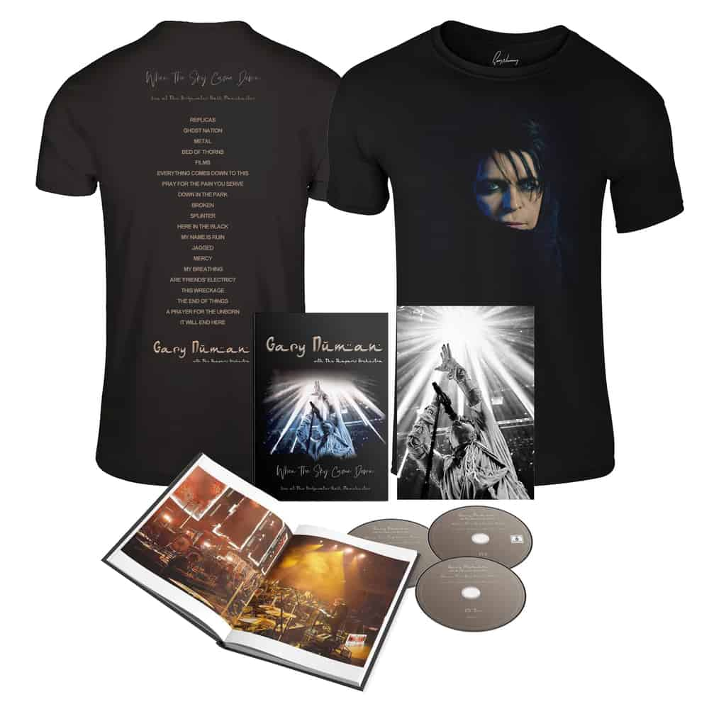 Buy Online Gary Numan - When the Sky Came Down (Live at The Bridgewater Hall, Manchester) + T-Shirt