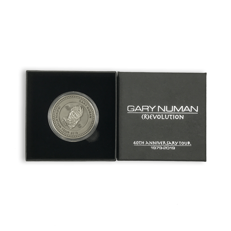 Buy Online Gary Numan - 40th Anniversary Tour Coin