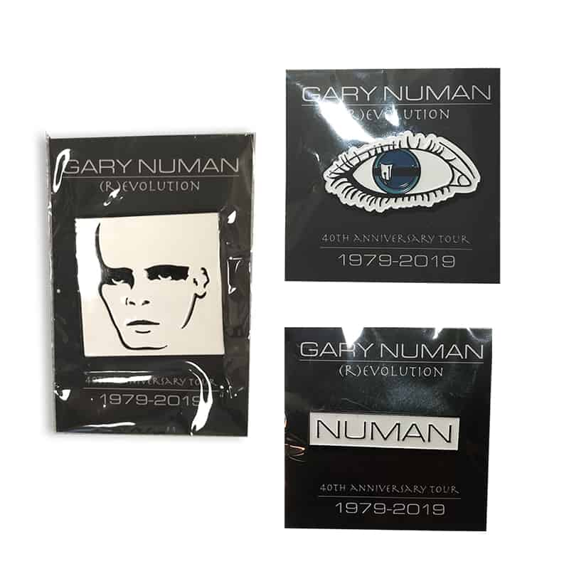 Buy Online Gary Numan - Enamel Pin Badge