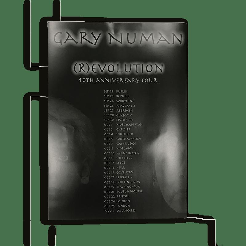 Buy Online Gary Numan - (R)evolution Tour Poster