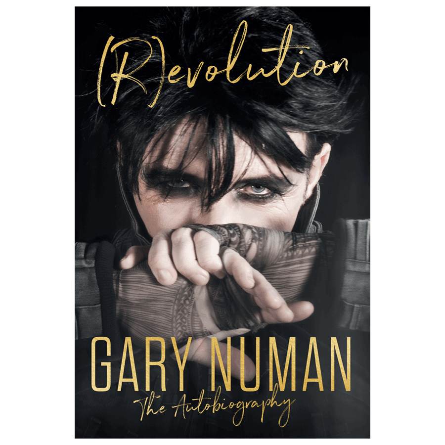 Buy Online Gary Numan - (R)evolution The Autobiography Hardback Book (Inc Hand Signed Bookmark)