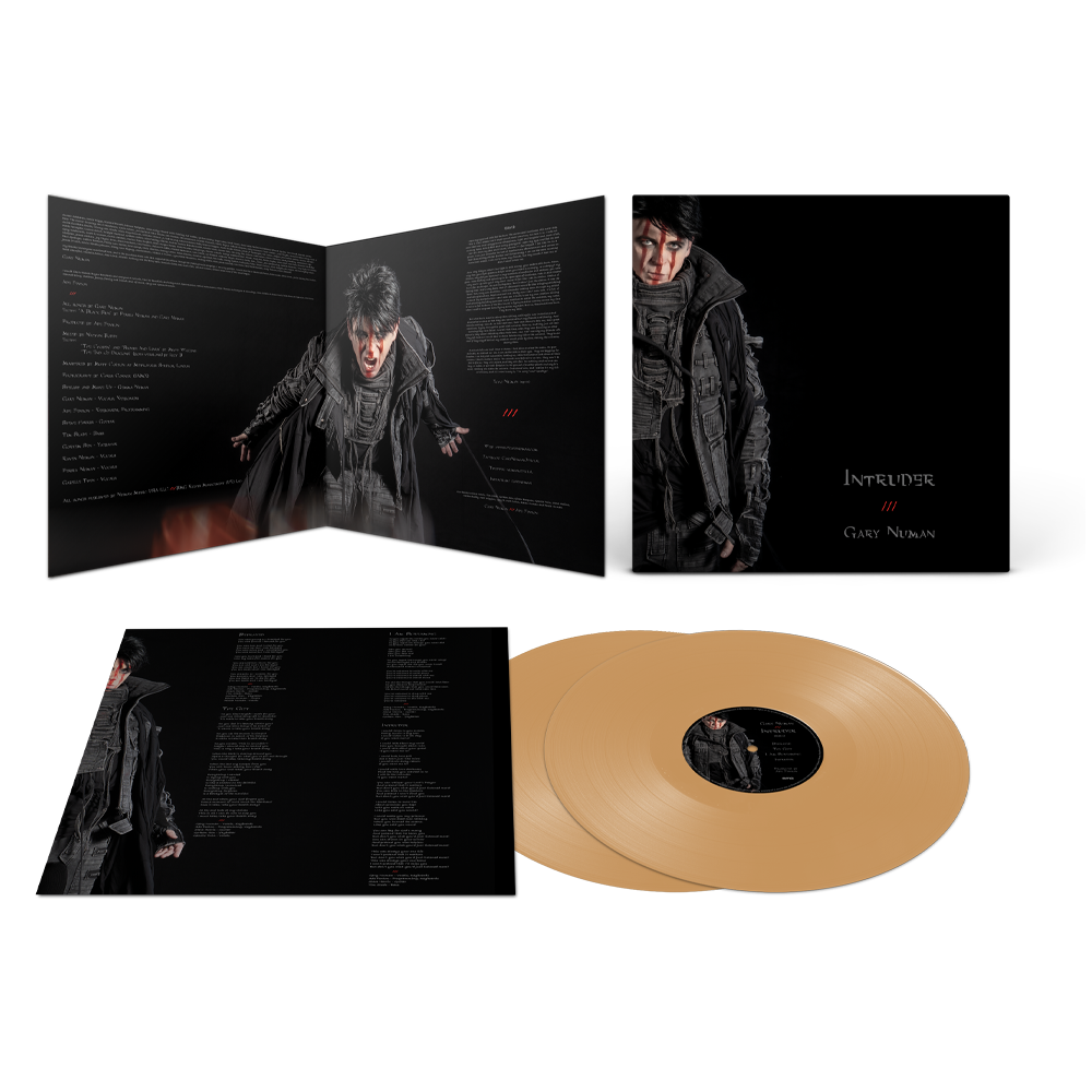 Buy Online Gary Numan - Intruder Gold Double Vinyl