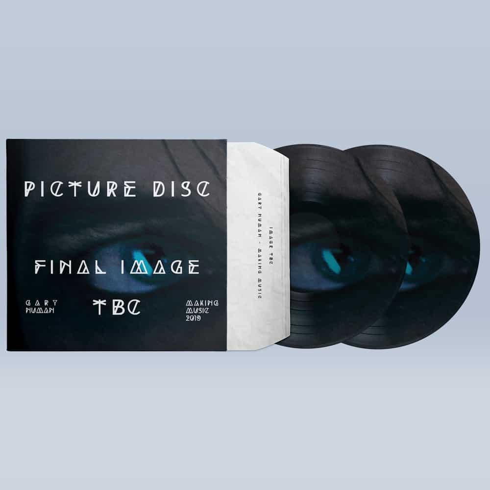 Buy Online Gary Numan - Signed Double Picture Disc Vinyl