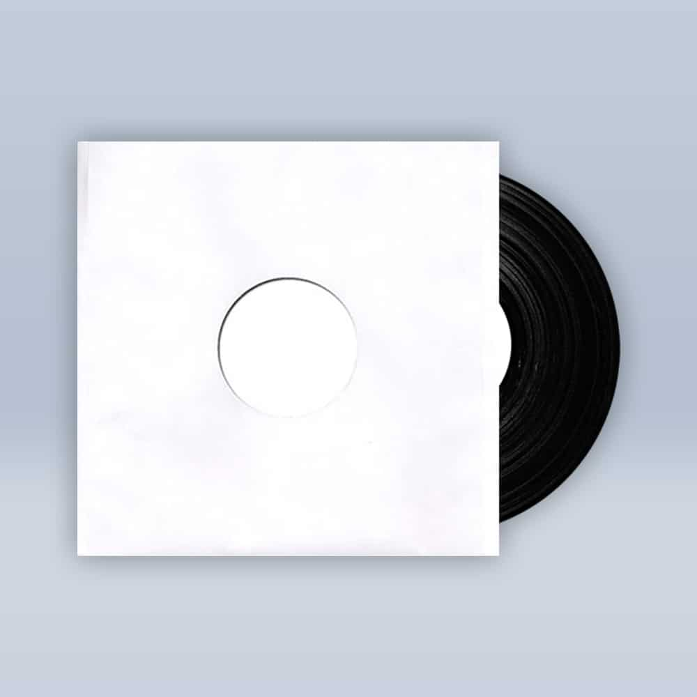 Dark Light EP White Label Vinyl Test Pressing 12""