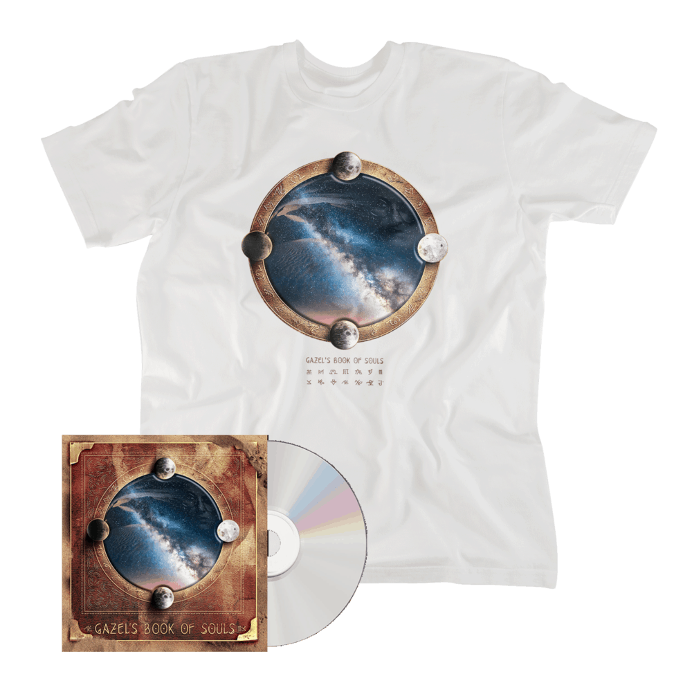 Buy Online Gazel - Gazel's Book of Souls CD + T-Shirt