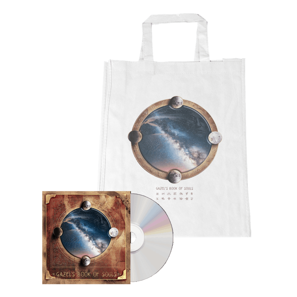 Buy Online Gazel - Gazel's Book of Souls CD + Tote Bag