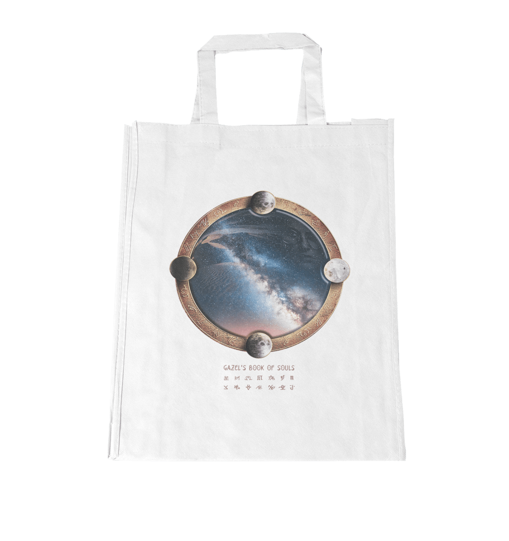 Buy Online Gazel - Gazel's Book of Souls Tote Bag
