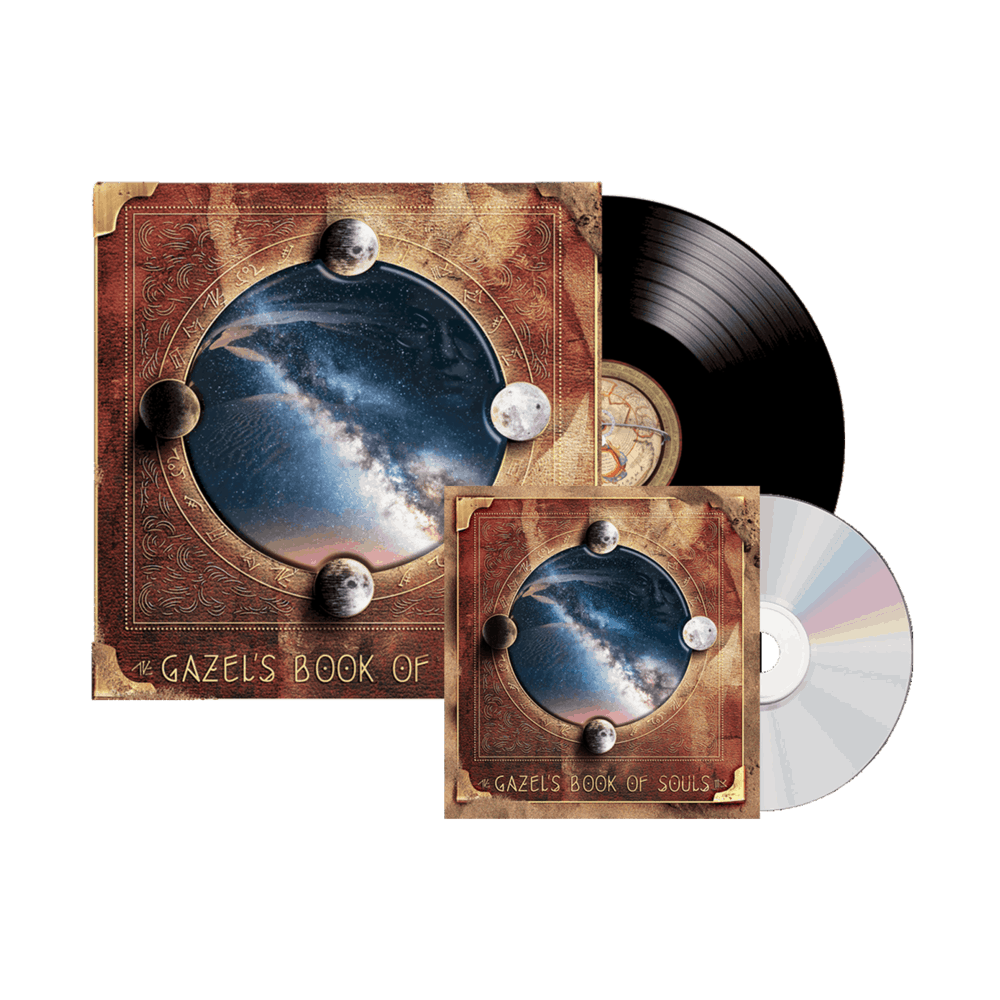 Buy Online Gazel - Gazel's Book of Souls CD + Double Vinyl