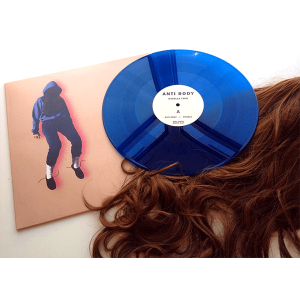 Buy Online Gazelle Twin - Anti Body (Limited Edition Blue Vinyl)