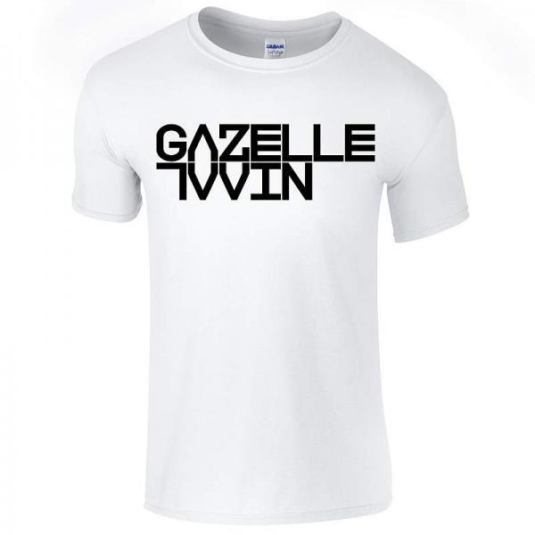 Buy Online Gazelle Twin - Gazelle Twin White  (Unflesh) Logo T-Shirt