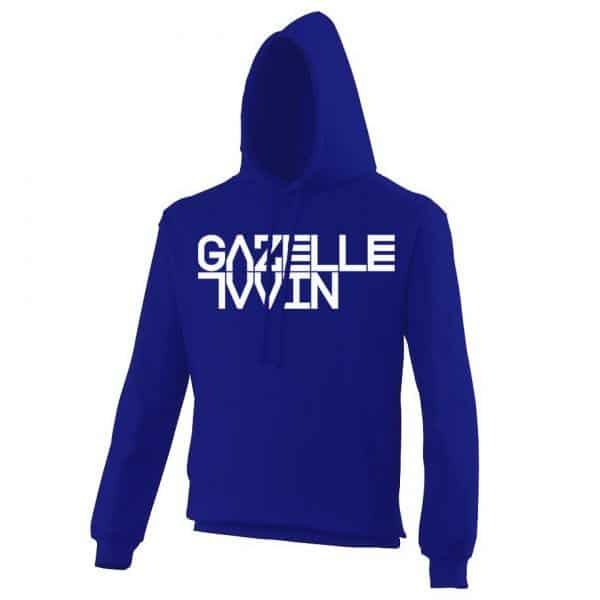 Buy Online Gazelle Twin - Gazelle Twin Logo Royal Blue Hoody