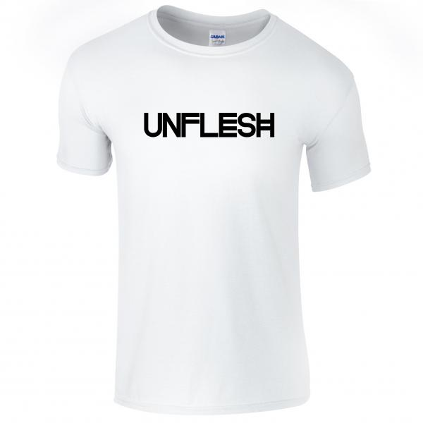 Buy Online Gazelle Twin - Unflesh - White T-Shirt