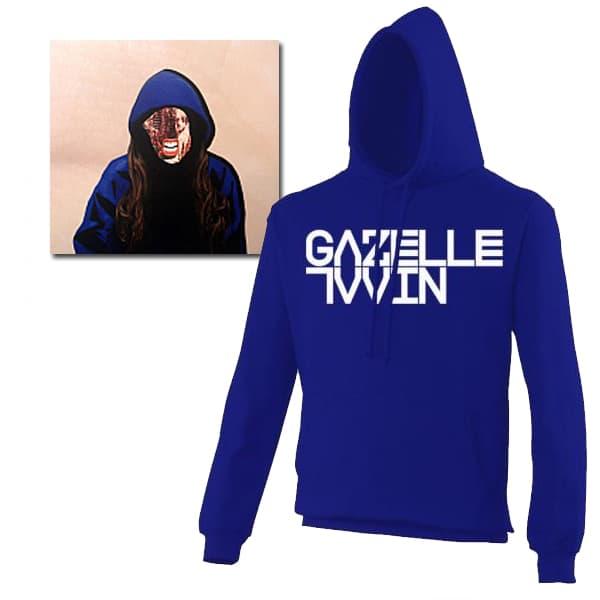 Buy Online Gazelle Twin - Blue Hoodie & Unflesh LP Bundle