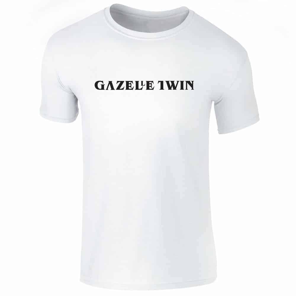 Buy Online Gazelle Twin - Pastoral Logo T-Shirt (White)