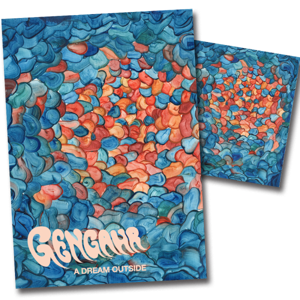 Buy Online Gengahr - A Dream Outside (CD) & Limited Edition Poster
