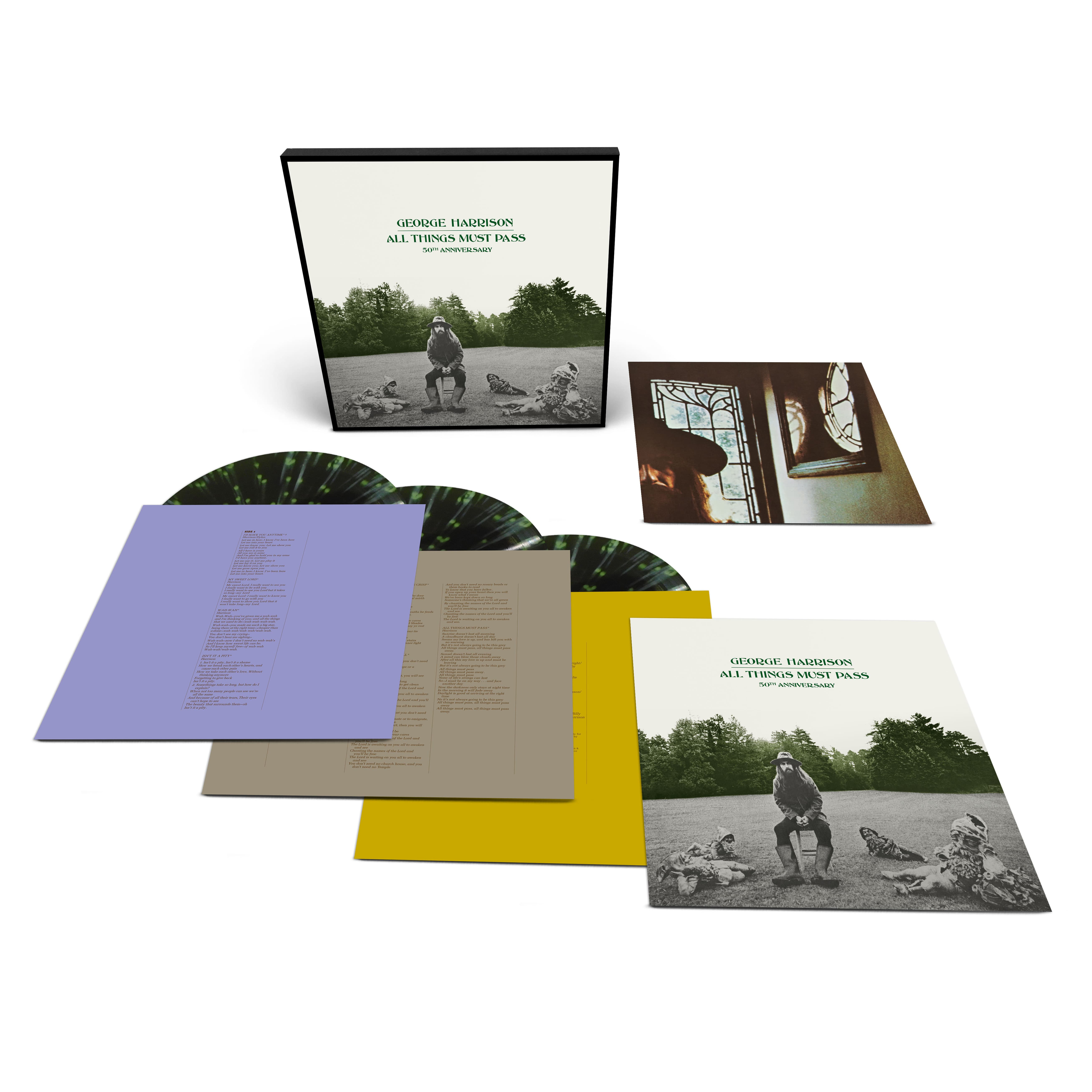 Buy Online George Harrison - All Things Must Pass E-Commerce Exclusive 3LP Color Vinyl