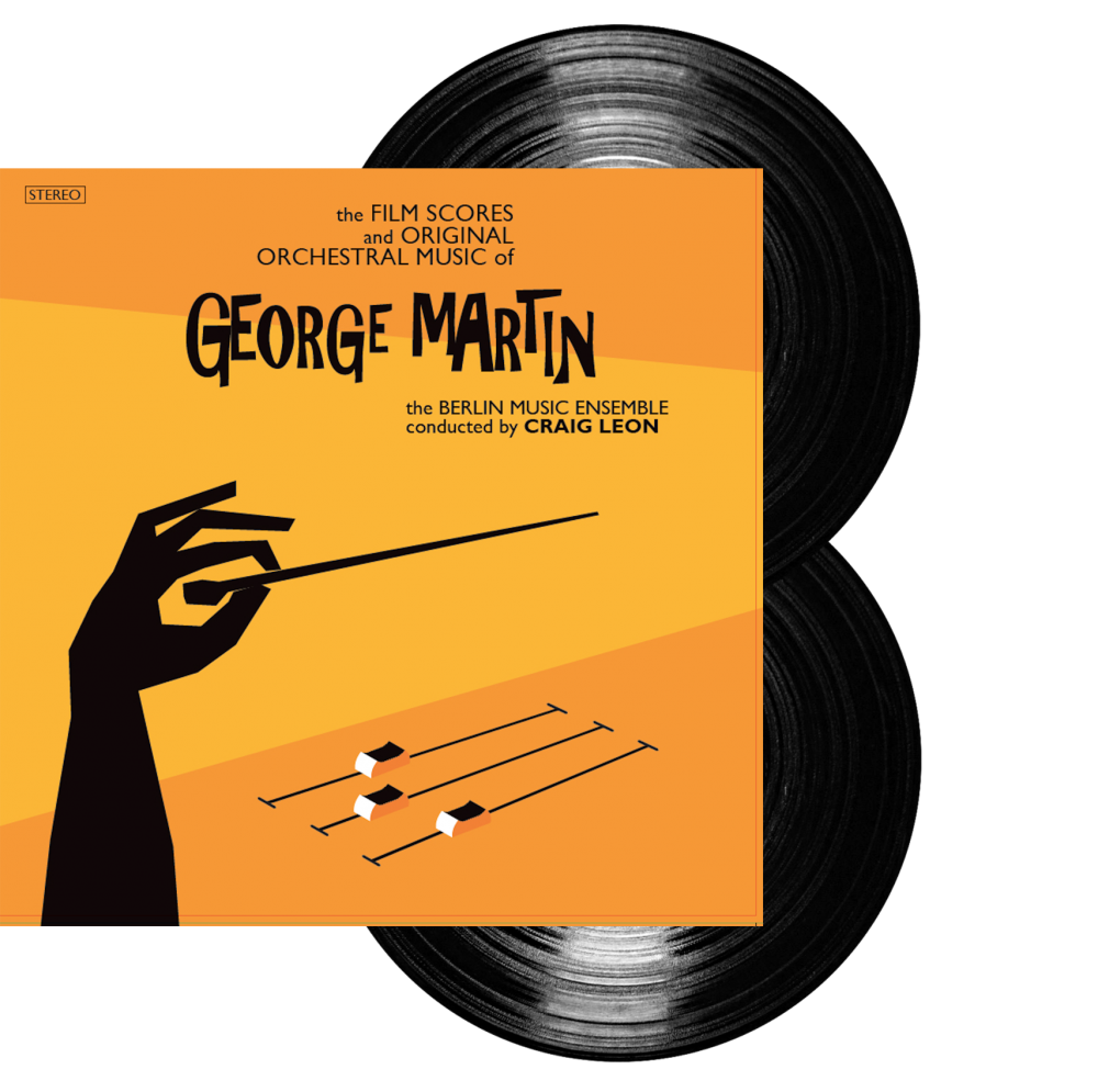 Buy Online George Martin - Deluxe Heavyweight  2LP Gatefold (w/ Download Codes) + Reproduction Sheet Music