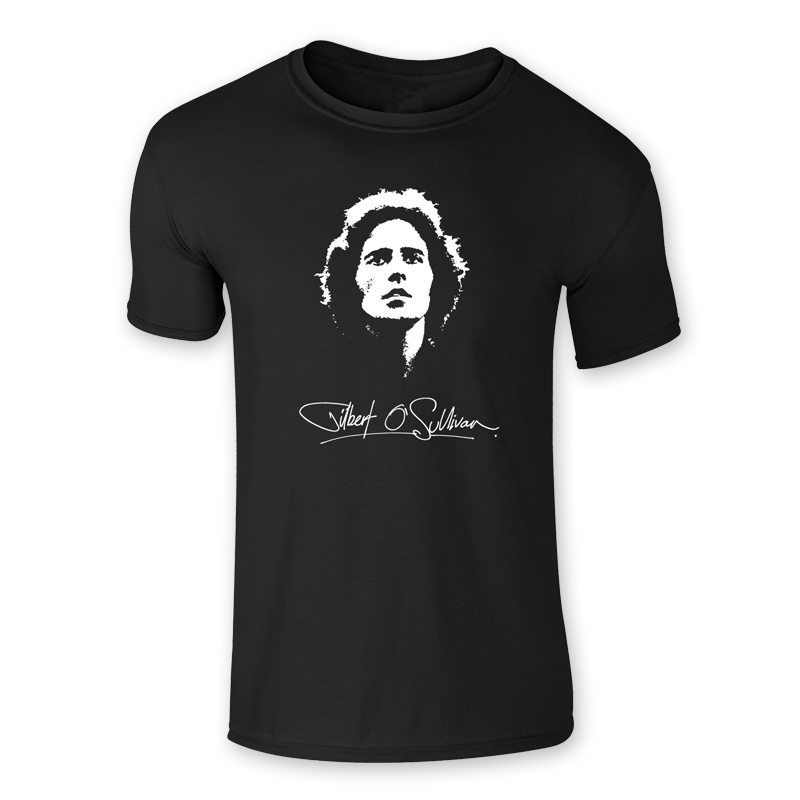Buy Online Gilbert O'Sullivan - Signature T-Shirt