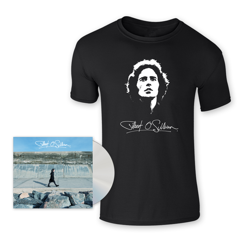 Buy Online Gilbert O'Sullivan - Gilbert O Sullivan CD + T-Shirt