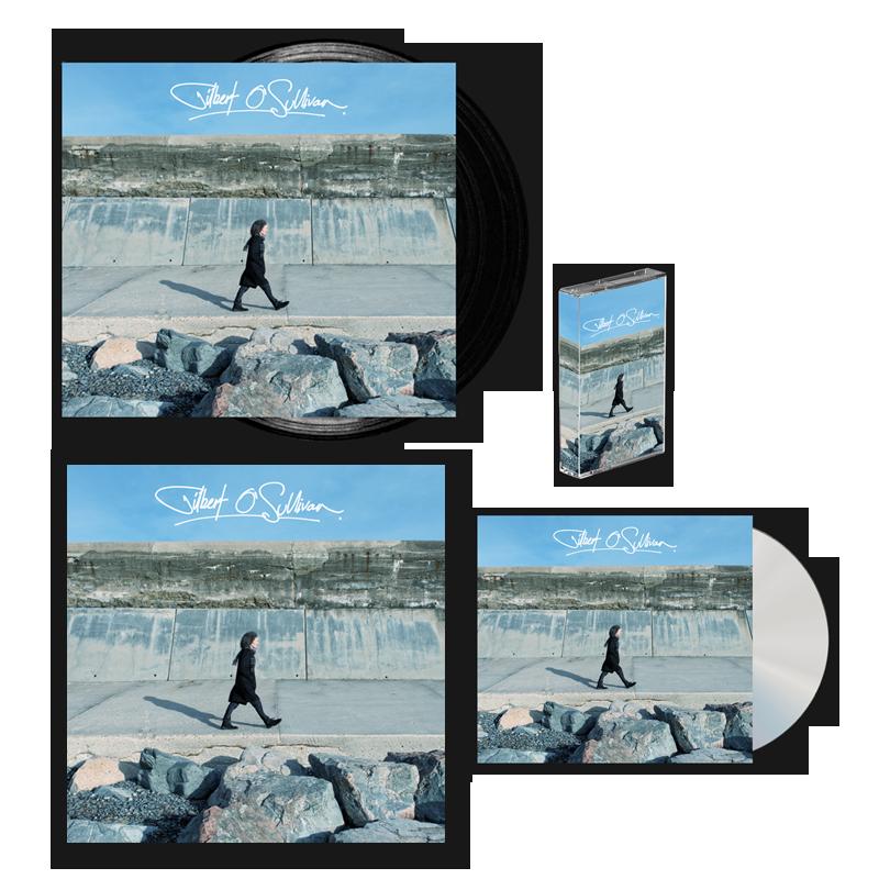 Buy Online Gilbert O'Sullivan - Gilbert O Sullivan CD + Vinyl + Cassette + 12x12 Print (Signed)