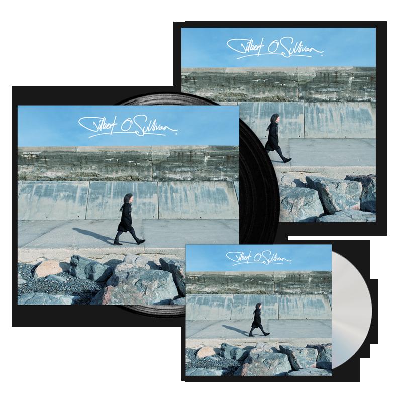 Buy Online Gilbert O'Sullivan - Gilbert O Sullivan CD + Vinyl + 12x12 Print (Signed)